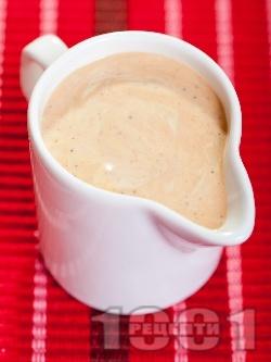 Майонезен сос с горчица и кетчуп - снимка на рецептата